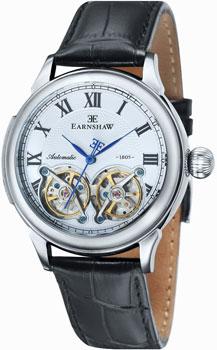 fashion наручные  мужские часы Earnshaw ES-8030-01. Коллекция Observatory