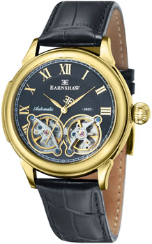 fashion наручные  мужские часы Earnshaw ES-8030-02. Коллекция Observatory