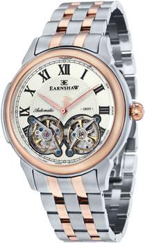 fashion наручные  мужские часы Earnshaw ES-8030-33. Коллекция Observatory