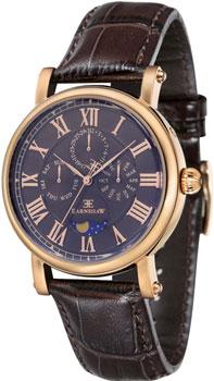 fashion наручные  мужские часы Earnshaw ES-8031-04. Коллекция Maskelyne