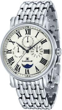 fashion наручные  мужские часы Earnshaw ES-8031-11. Коллекция Maskelyne