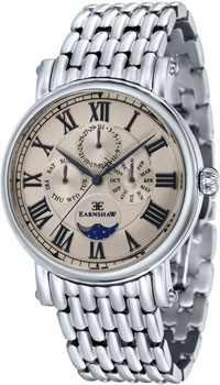 fashion наручные  мужские часы Earnshaw ES-8031-33. Коллекция Maskelyne