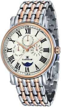 fashion наручные  мужские часы Earnshaw ES-8031-55. Коллекция Maskelyne