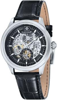 fashion наручные  мужские часы Earnshaw ES-8039-01. Коллекция Academy