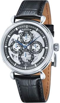 fashion наручные  мужские часы Earnshaw ES-8043-01. Коллекция Grand Calendar