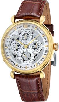 fashion наручные  мужские часы Earnshaw ES-8043-03. Коллекция Grand Calendar