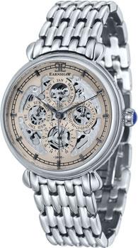 fashion наручные  мужские часы Earnshaw ES-8043-33. Коллекция Grand Calendar