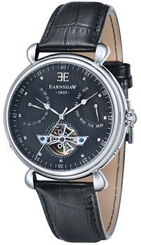 fashion наручные  мужские часы Earnshaw ES-8046-01. Коллекция Grand Calendar