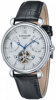 fashion наручные  мужские часы Earnshaw ES-8046-02. Коллекция Grand Calendar