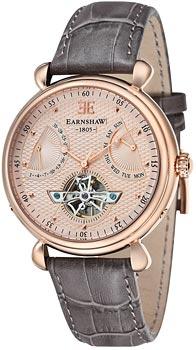 fashion наручные  мужские часы Earnshaw ES-8046-03. Коллекция Grand Calendar