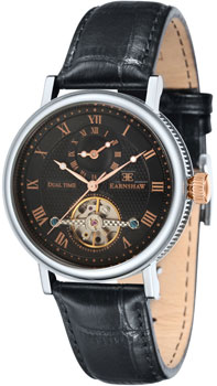fashion наручные  мужские часы Earnshaw ES-8047-01. Коллекция Beaufort