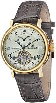 fashion наручные  мужские часы Earnshaw ES-8047-03. Коллекция Beaufort