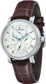 fashion наручные  мужские часы Earnshaw ES-8048-01. Коллекция Longcase Master Calendar
