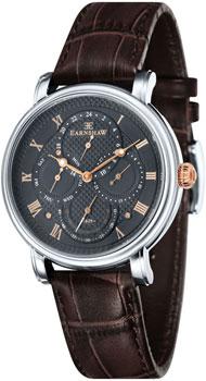fashion наручные  мужские часы Earnshaw ES-8048-02. Коллекция Longcase Master Calendar