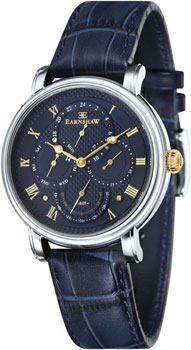 fashion наручные  мужские часы Earnshaw ES-8048-03. Коллекция Longcase Master Calendar