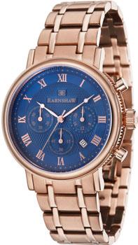 fashion наручные  мужские часы Earnshaw ES-8051-33. Коллекция Beaufort