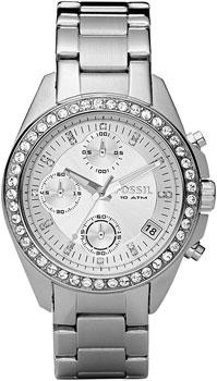 fashion наручные  женские часы Fossil ES2681. Коллекция Decker