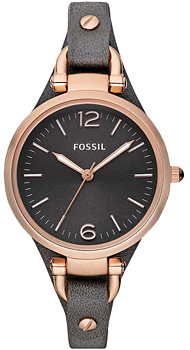 fashion наручные  женские часы Fossil ES3077. Коллекция Georgia