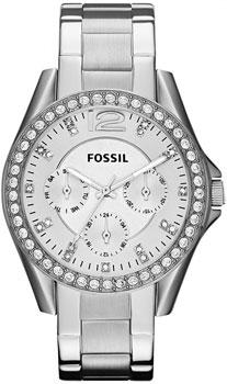 fashion наручные  женские часы Fossil ES3202. Коллекция Riley