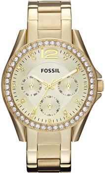 fashion наручные  женские часы Fossil ES3203. Коллекция Riley