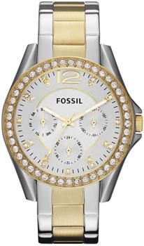 fashion наручные  женские часы Fossil ES3204. Коллекция Riley