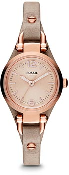 fashion наручные  женские часы Fossil ES3262. Коллекция Georgia