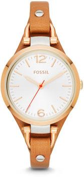 fashion наручные  женские часы Fossil ES3565. Коллекция Georgia