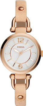 fashion наручные  женские часы Fossil ES3745. Коллекция Georgia
