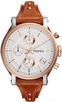 fashion наручные  женские часы Fossil ES3837. Коллекция Boyfriend