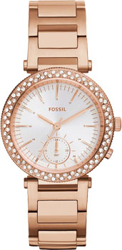 fashion наручные  женские часы Fossil ES3851. Коллекция Urban Traveler