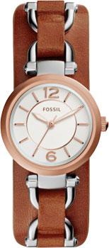 fashion наручные  женские часы Fossil ES3855. Коллекция Georgia