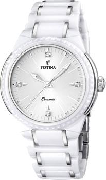fashion наручные  женские часы Festina F16698.1. Коллекция Ceramic