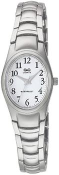 Японские наручные  женские часы Q&Q F279J204Y. Коллекция Elegant