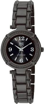 Японские наручные  женские часы Q&Q F281405Y. Коллекция Elegant
