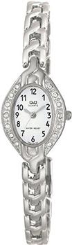 Японские наручные  женские часы Q&Q F303204Y. Коллекция Elegant