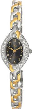 Японские наручные  женские часы Q&Q F303405Y. Коллекция Elegant