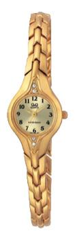 Японские наручные  женские часы Q&Q F307003Y. Коллекция Elegant
