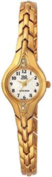 Японские наручные  женские часы Q&Q F307004Y. Коллекция Elegant