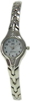 Японские наручные  женские часы Q&Q F307204Y. Коллекция Elegant