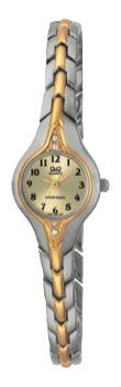 Японские наручные  женские часы Q&Q F307403Y. Коллекция Elegant