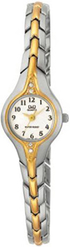 Японские наручные  женские часы Q&Q F307404Y. Коллекция Elegant