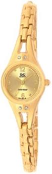 Японские наручные  женские часы Q&Q F311003Y. Коллекция Elegant