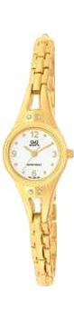 Японские наручные  женские часы Q&Q F311004Y. Коллекция Elegant