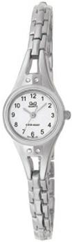 Японские наручные  женские часы Q&Q F311204Y. Коллекция Elegant