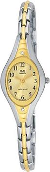 Японские наручные  женские часы Q&Q F313403. Коллекция Elegant