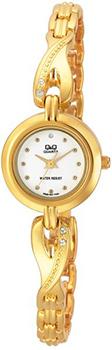 Японские наручные  женские часы Q&Q F323001Y. Коллекция Elegant