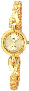 Японские наручные  женские часы Q&Q F323010Y. Коллекция Elegant