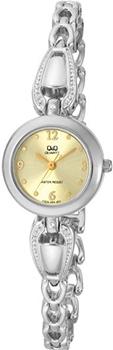 Японские наручные  женские часы Q&Q F325203Y. Коллекция Elegant