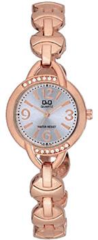 Японские наручные  женские часы Q&Q F337004Y. Коллекция Elegant