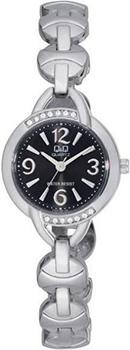 Японские наручные  женские часы Q&Q F337205Y. Коллекция Elegant